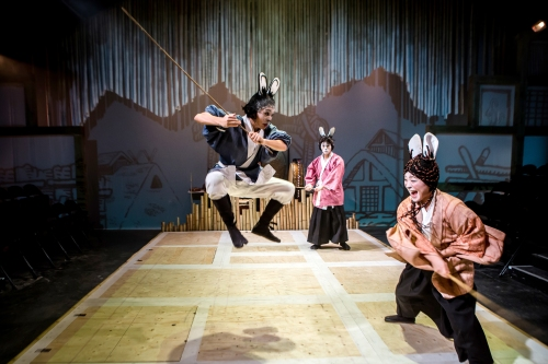 Usage Yojimbo at the Southwark Playhouse